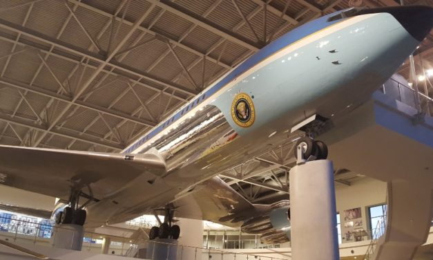 Air Force One at the Ronald Reagan Presidential Library