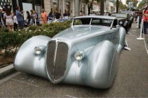 Packard Aquarius 1934 at Rodeo Drive Concours d'Elegance