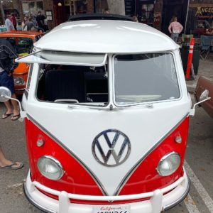 Seal Beach Classic Car Show VW window bus