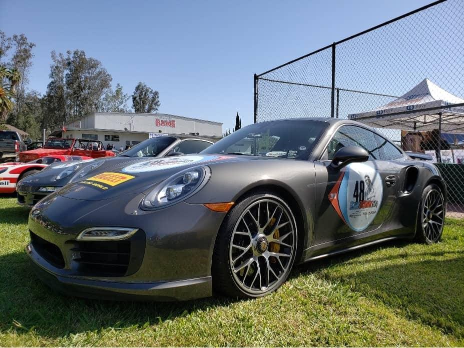 Steve McQueen Car Show Porsche
