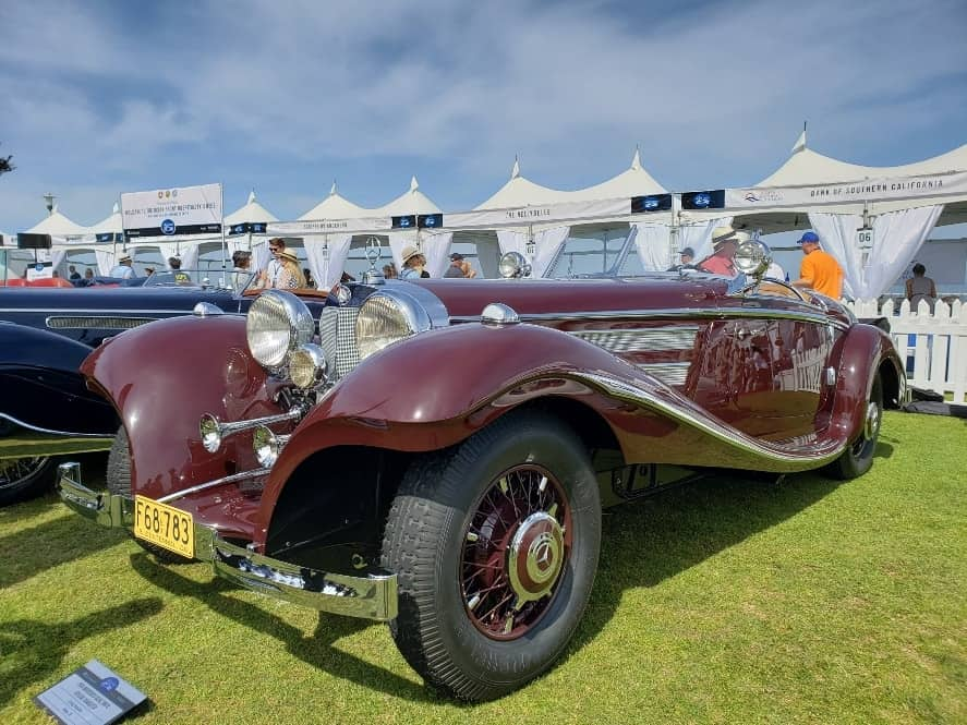 1936 Mercedes-Benz 500 K Special Rodster at the La Jolla Concours d'Elegance