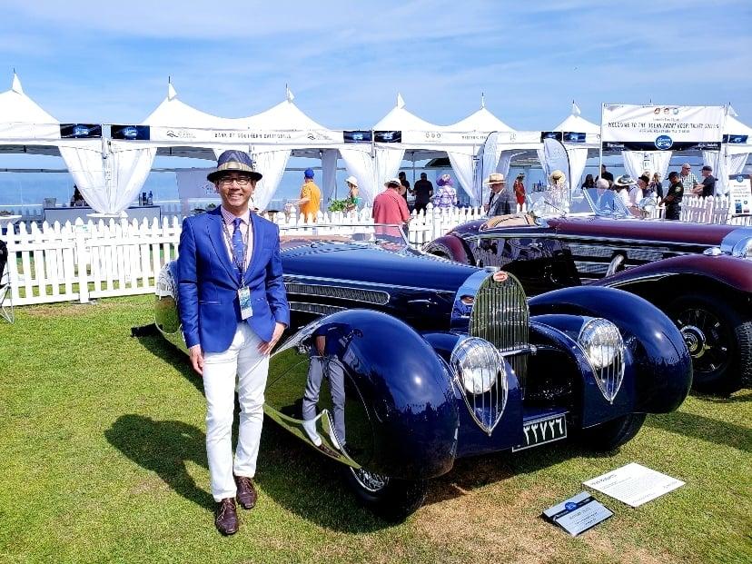 1939 Bugatti Type 57C at the La Jolla Concours d'Elegance
