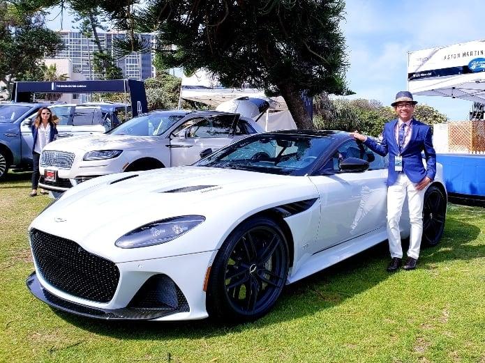Aston Martin DBS Superleggera at the La Jolla Concours d'Elegance