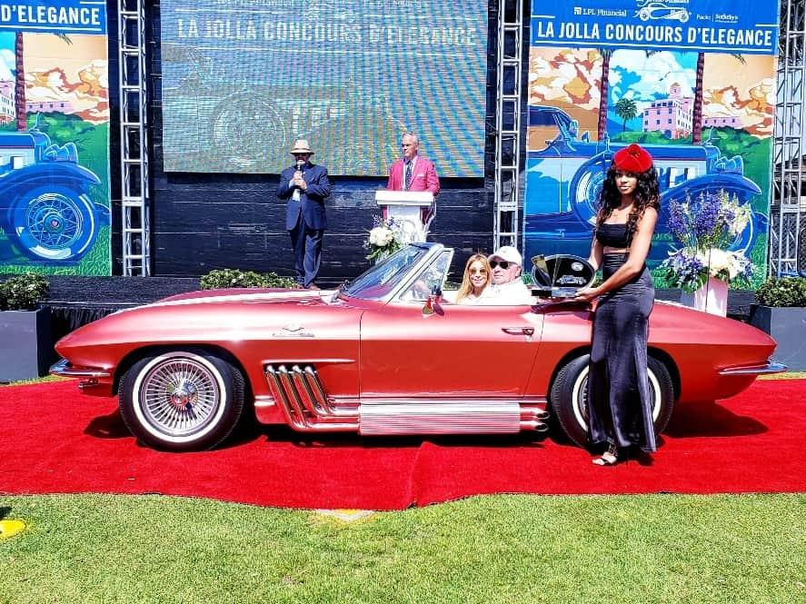 Chevrolet Corvette at the La Jolla Concours d'Elegance
