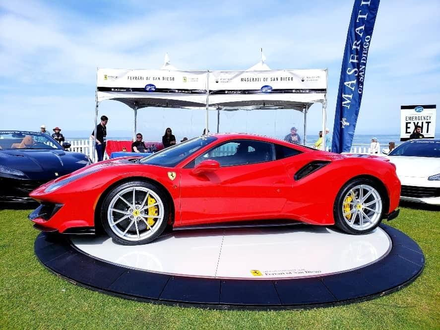 Ferrari 488 Pista at theLa Jolla Concours d'Elegance