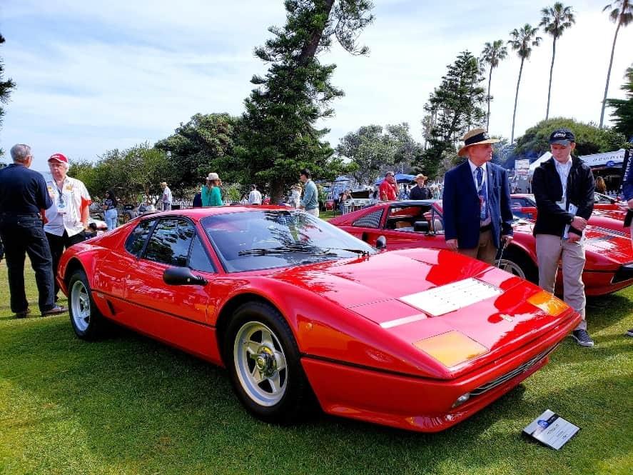 Ferrari 512BB at La Jolla Concours d'Elegance