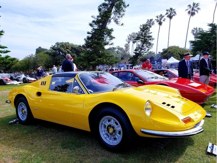 Ferrari Dino at La Jolla Concours d'Elegance