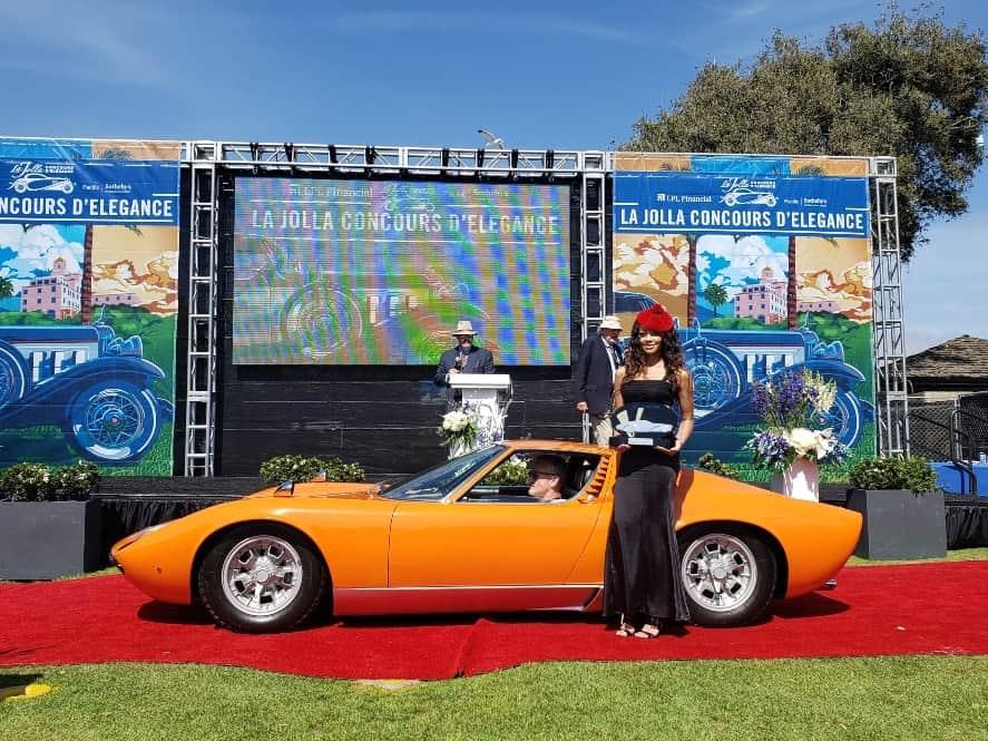 Lamborghini Muira at the La Jolla Concours d'Elegance