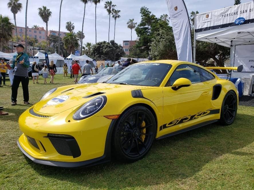 Porsche 911 GT3 RS at the La Jolla Concours d'Elegance