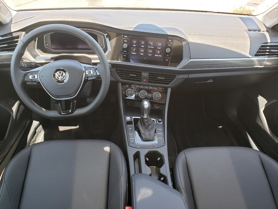 Jetta Driver Focused Cockpit