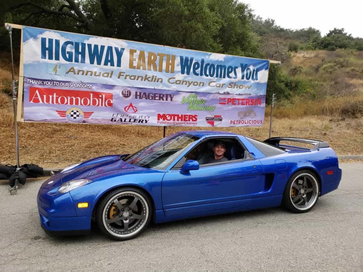 Acura NSX Highway Earth Car Show