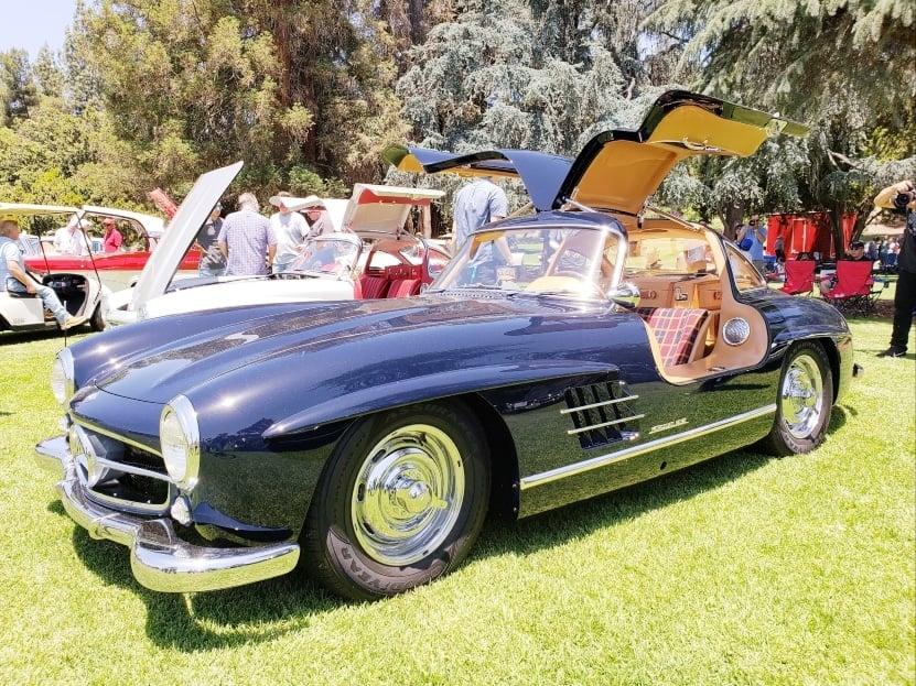 Benz Gullwing @ San Marino Motor Classic