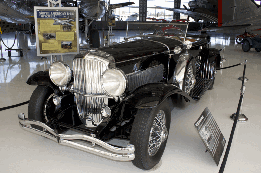 1933 Duesenberg at the Lyon Air Museum