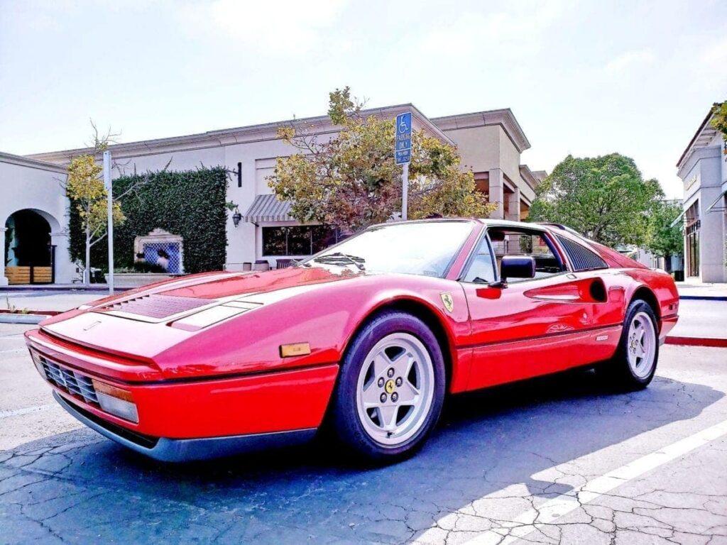 Red Ferrari 328 GTS