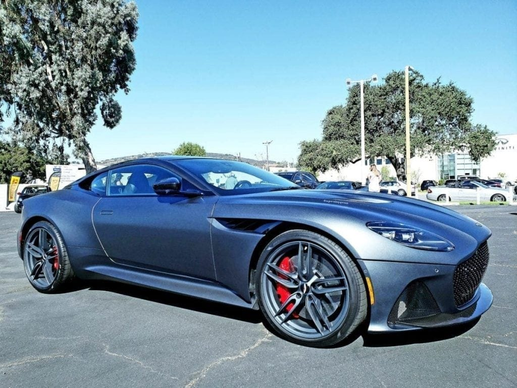 Gray Aston Martin DBS Superleggera