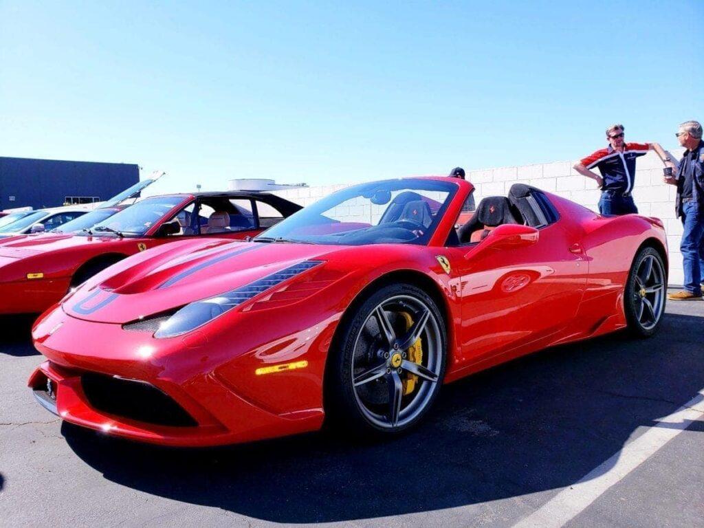 Red Ferrari 458 Speciale A