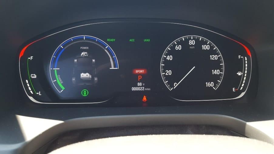 2019 Honda Insight w. red non.eco effect.