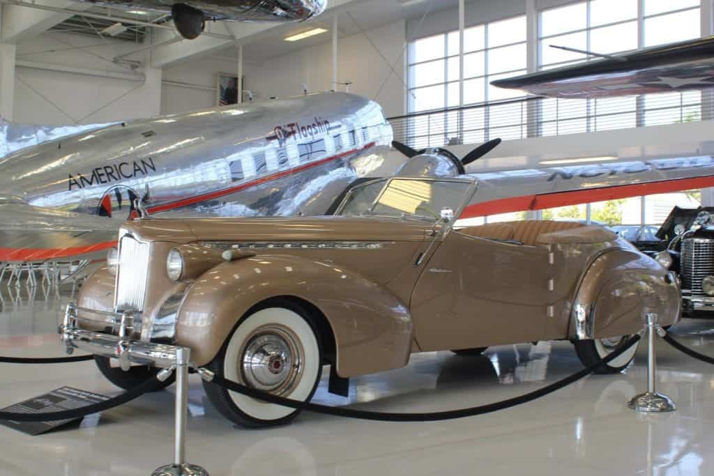 Car Exhibit at Lyon Air Museum