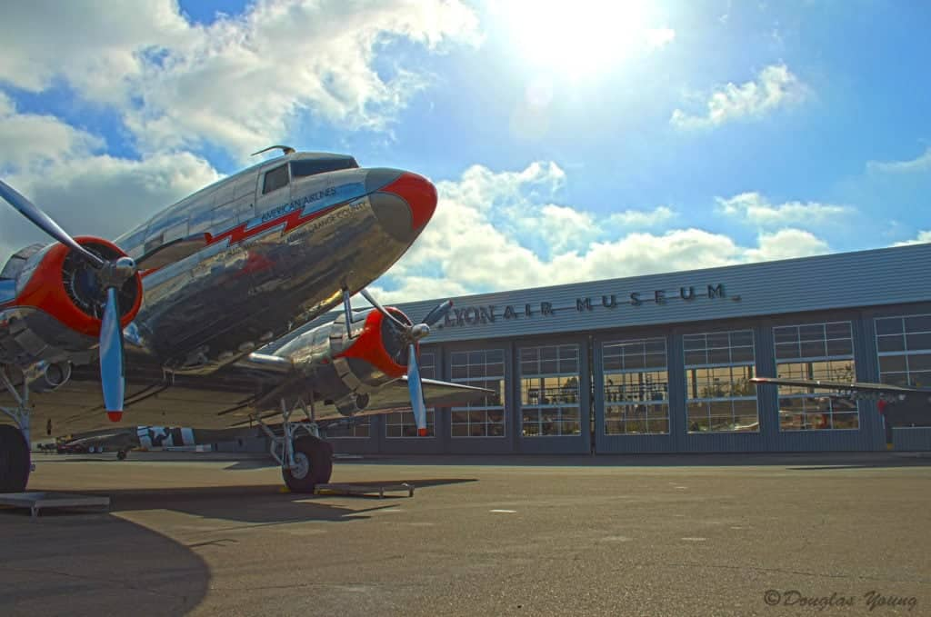 DC-3 Flagship a the Orange County Lyon Air Museum.