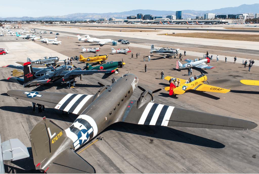 Lyon Air Museum History on the Flight Line