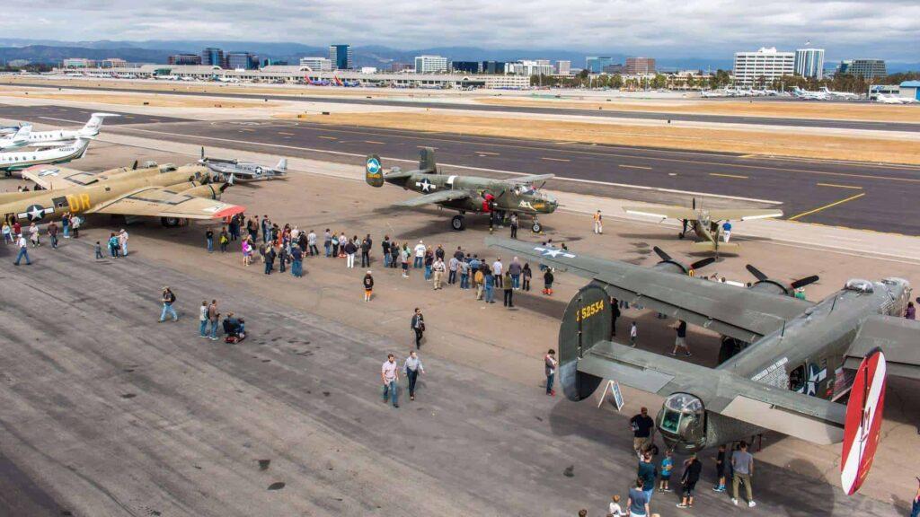 Lyon Air Museum shares John Wayne Airport tarmac
