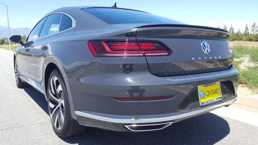 Gray 2019 VW Arteon driver rear