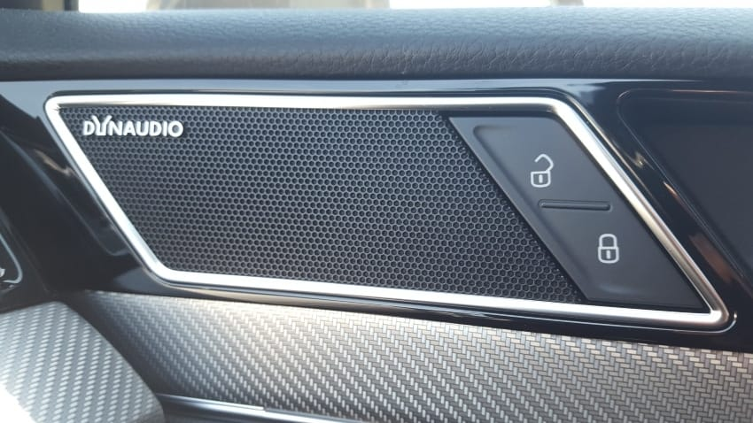 Close-up, Dynaudio door speaker