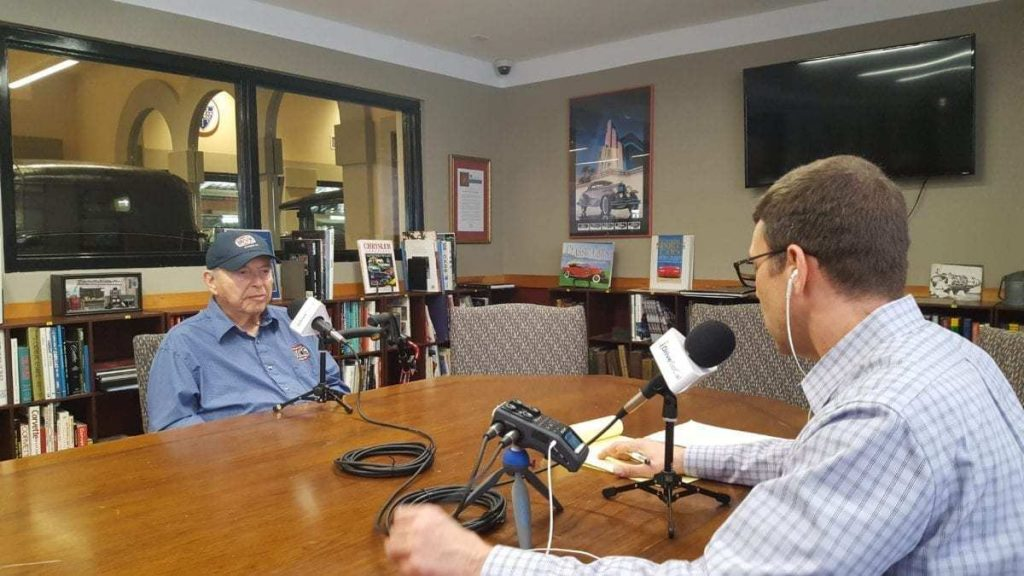 Stanley Zimmerman, Co-Founder of The Automobile Driving Museum being interviewed by Tom Smith for the iDriveSoCal Podcast