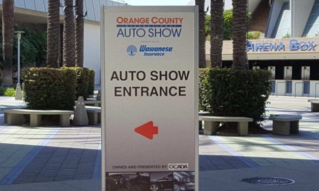 The 2019 OC Auto Show, Anaheim, CA – Oct. 3rd thru 6th