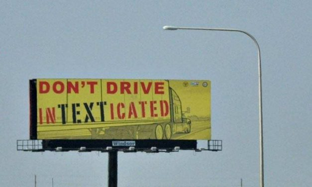 Distracted Driving – Don't Drive In-Text-icated