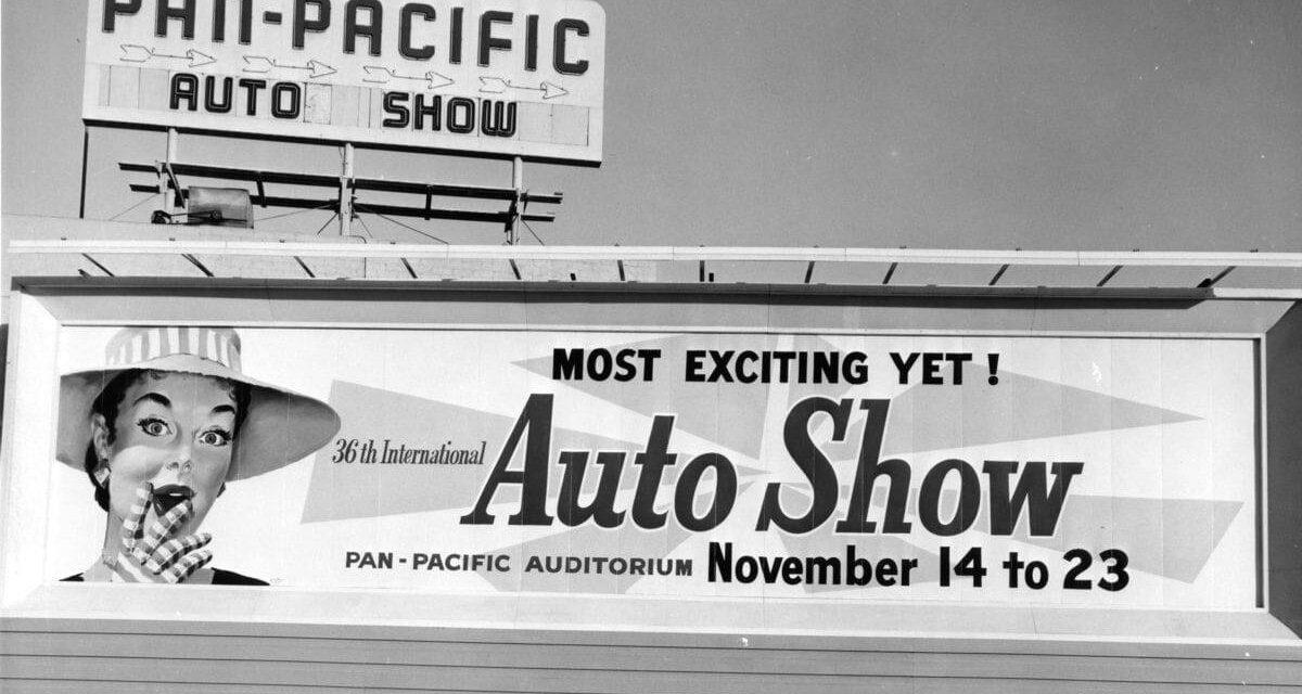 LA Auto Show Past, Present & Future