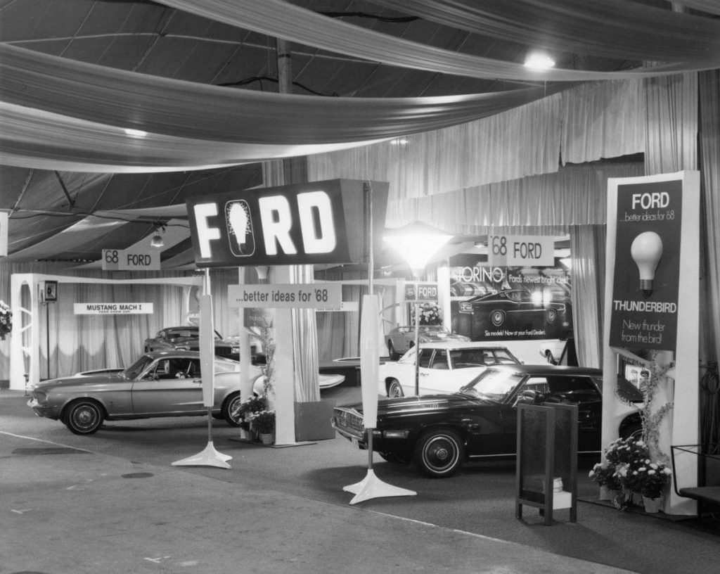Los Angeles Auto Show Historical pic | Courtesy of Los Angeles Auto Show archives