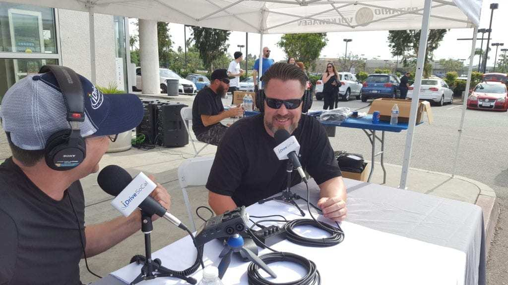 Ontario Volkswagen Podcast interview during Oktoberfest