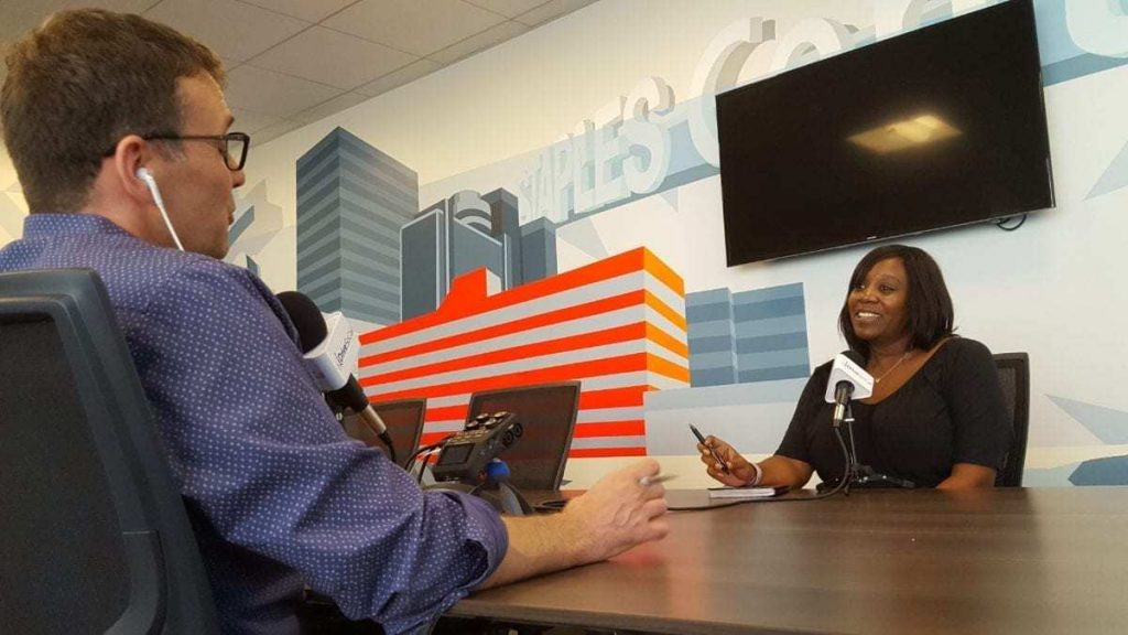 Tom Smith discusses Code AutoMobility LA with Alexis Evans - it's a hackathon really