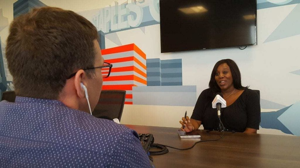 Alexis Evans, Communications Director for the LA Auto Show & AutoMobility LA is interviewed by Tom Smith