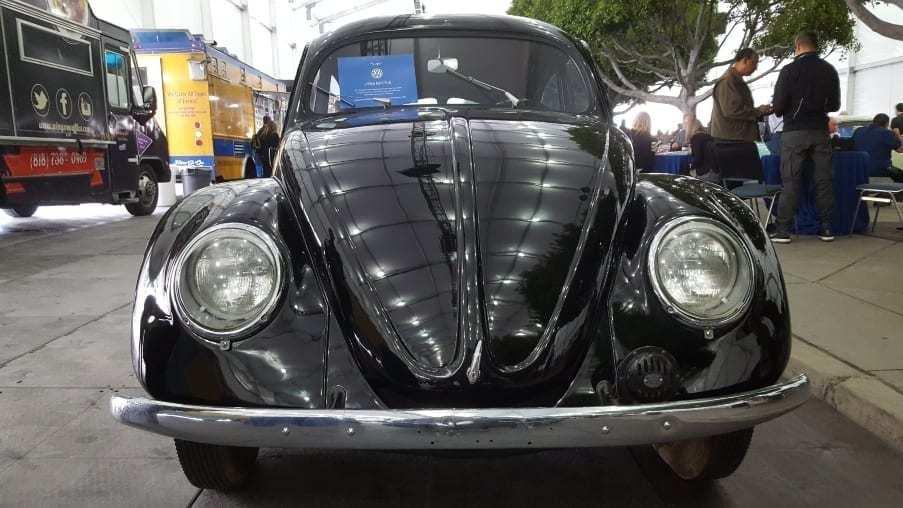 Black 1946 Volkswagen Beetle