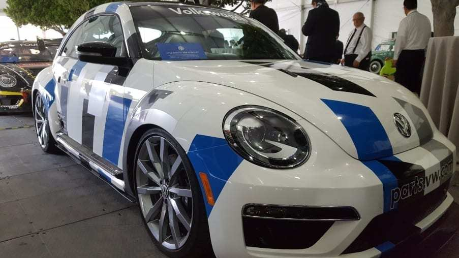 White, blue, gray & black 2012 Volkswagen VR6 Concept Passenger-front profile
