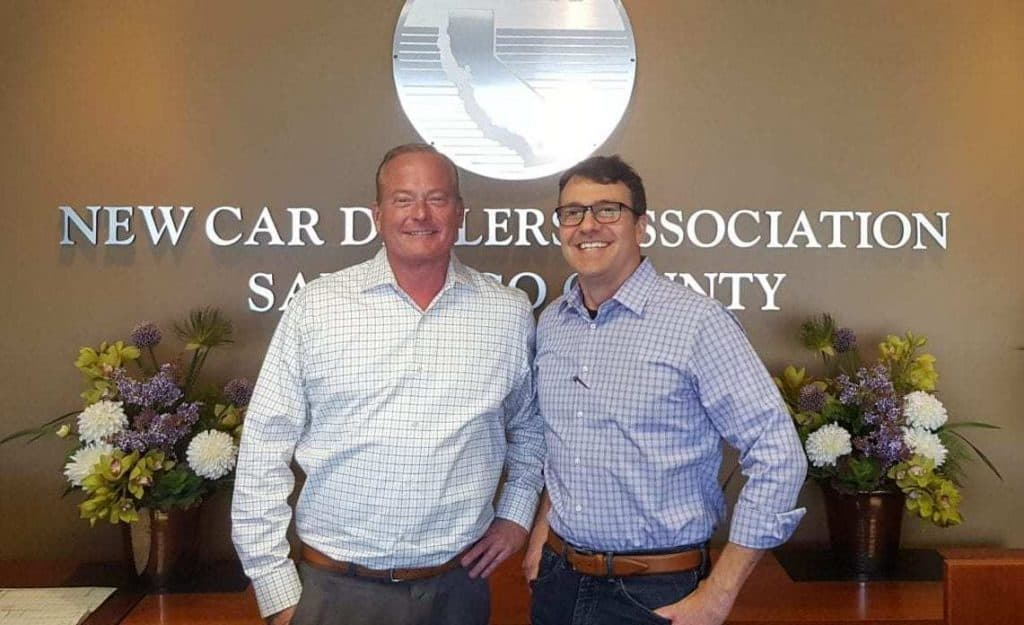 SD Auto Show's Kevin Leap & iDSC's Tom Smith