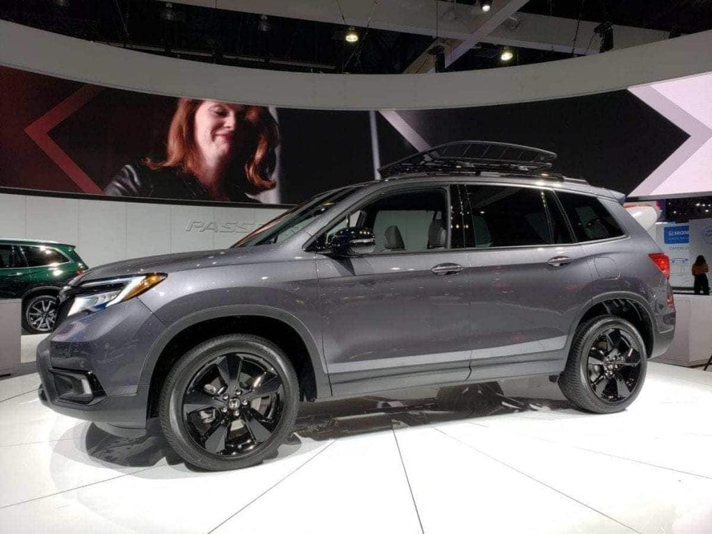 2019 Honda Passport Gray Drivers-side Profile