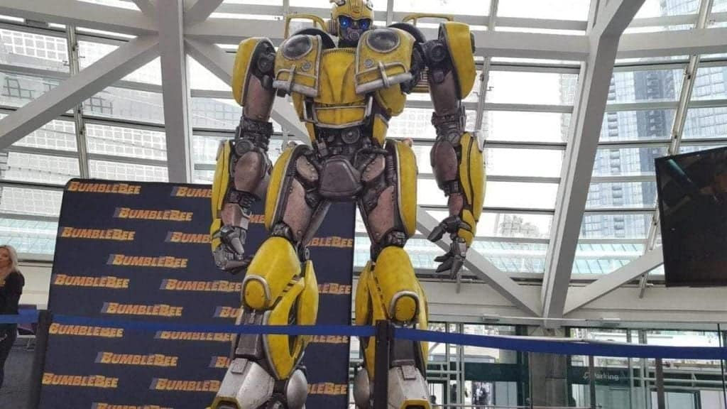 BumbleBee Motion Picture Character