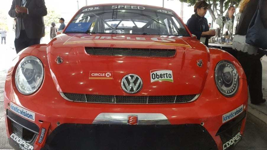 Red Circle K VW Beetle racer front