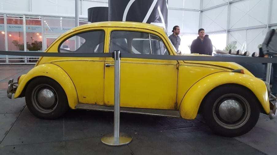 Classic Yellow Beetle