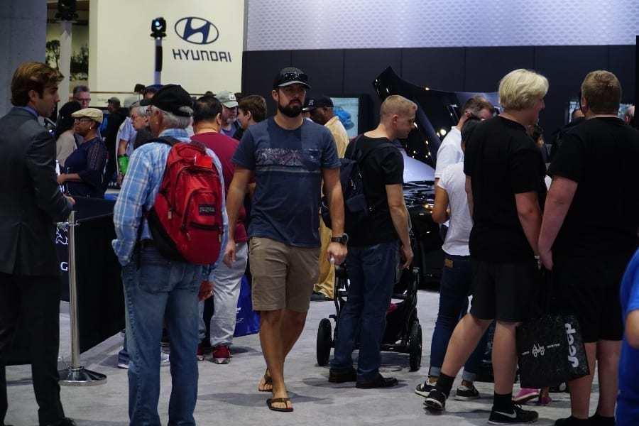 Hyundai at the San Diego Auto Show