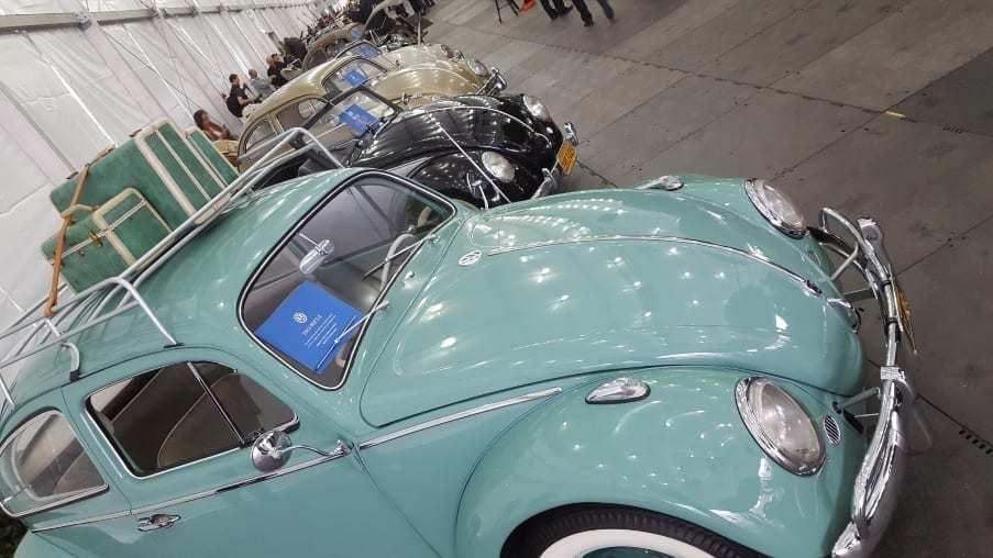 VW Beetle line-up @ 2018 LA Auto Show Press Days