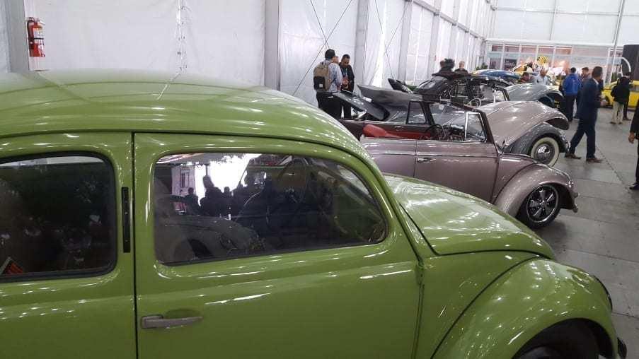 VW Beetle line-up @ AutoMobility LA
