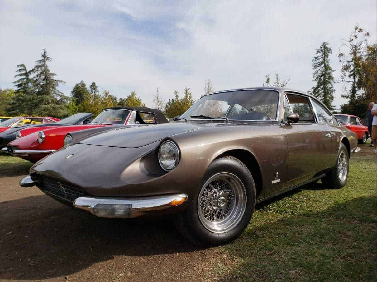 Brown late-model Ferrari
