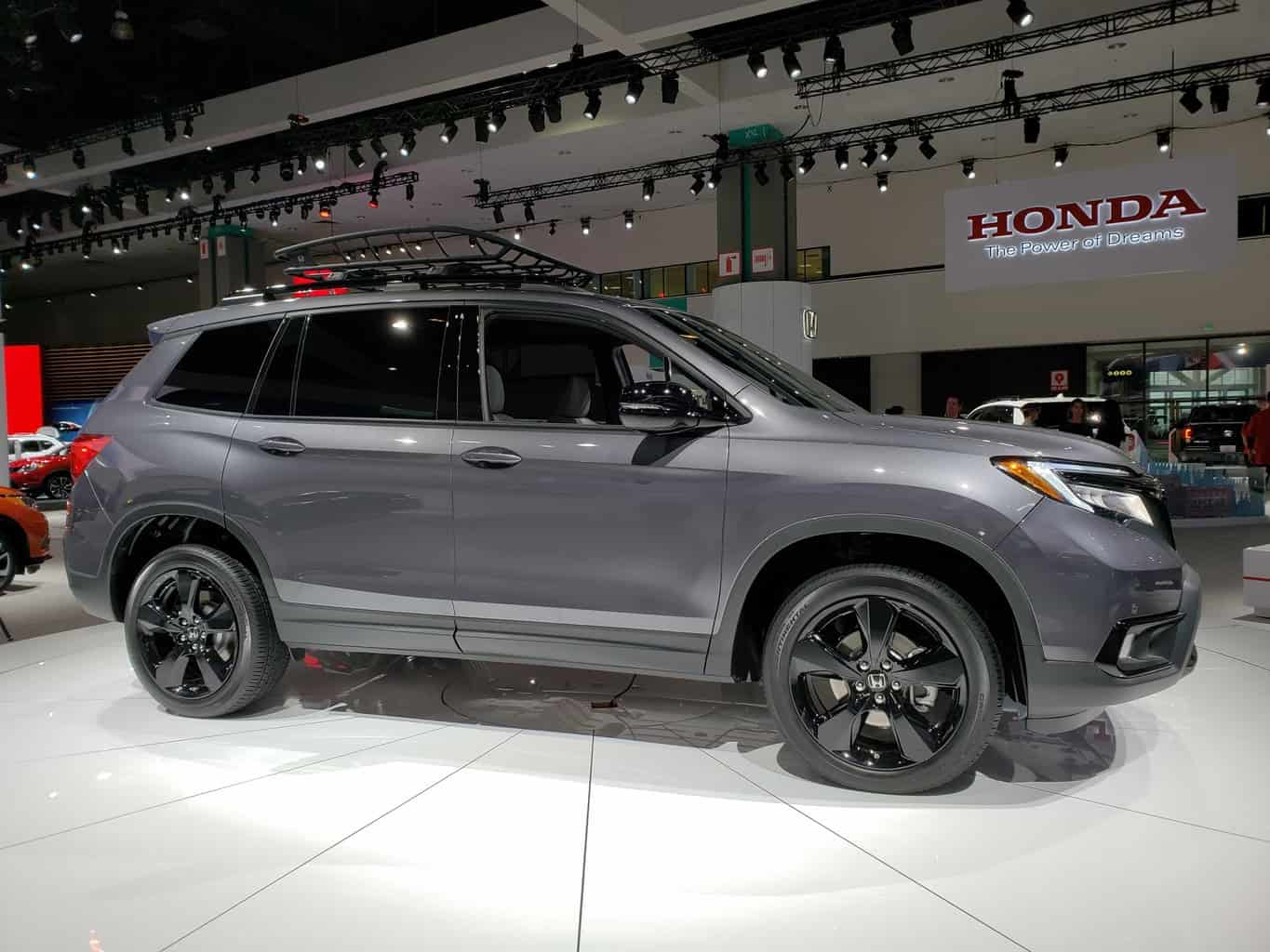 Gray 2019 Honda Passport