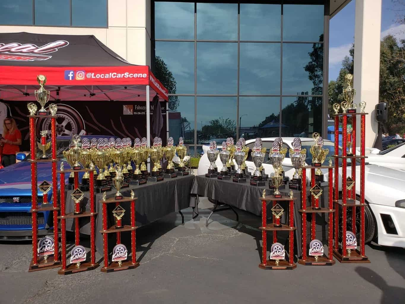 Local Car Fest Trophies