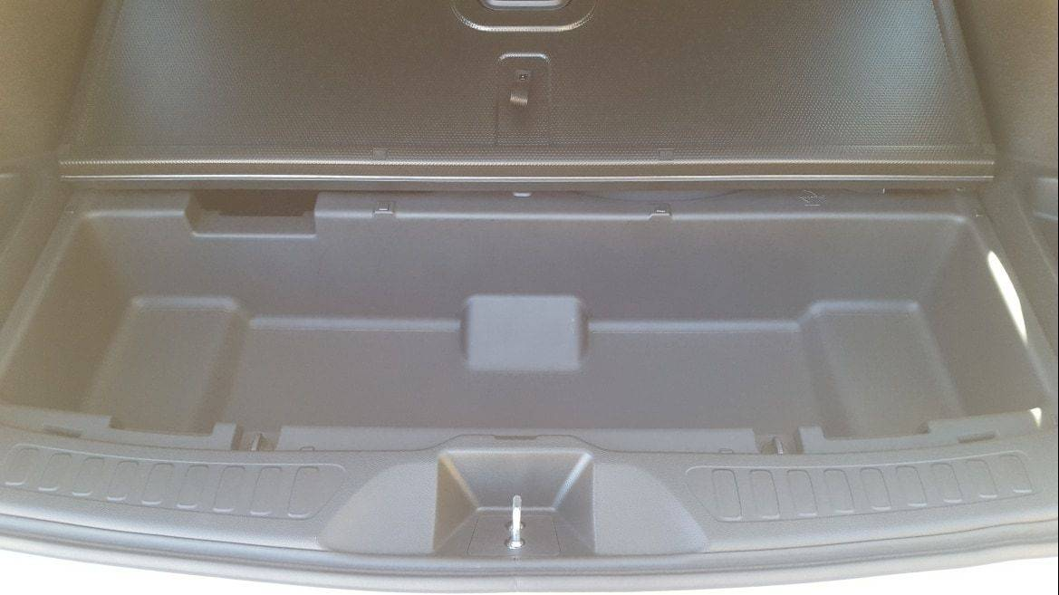 2019 Honda Passport rear storage compartment
