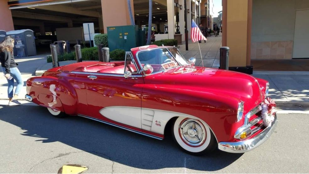 Cool Cruise Car Show red '50's